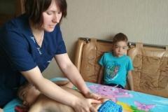 Детский массаж на дому в Москве