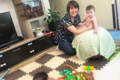 Массаж малышей на дому в Москве